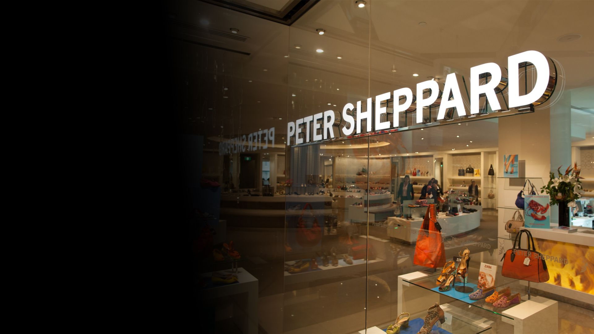 Peter Sheppard illuminated signage