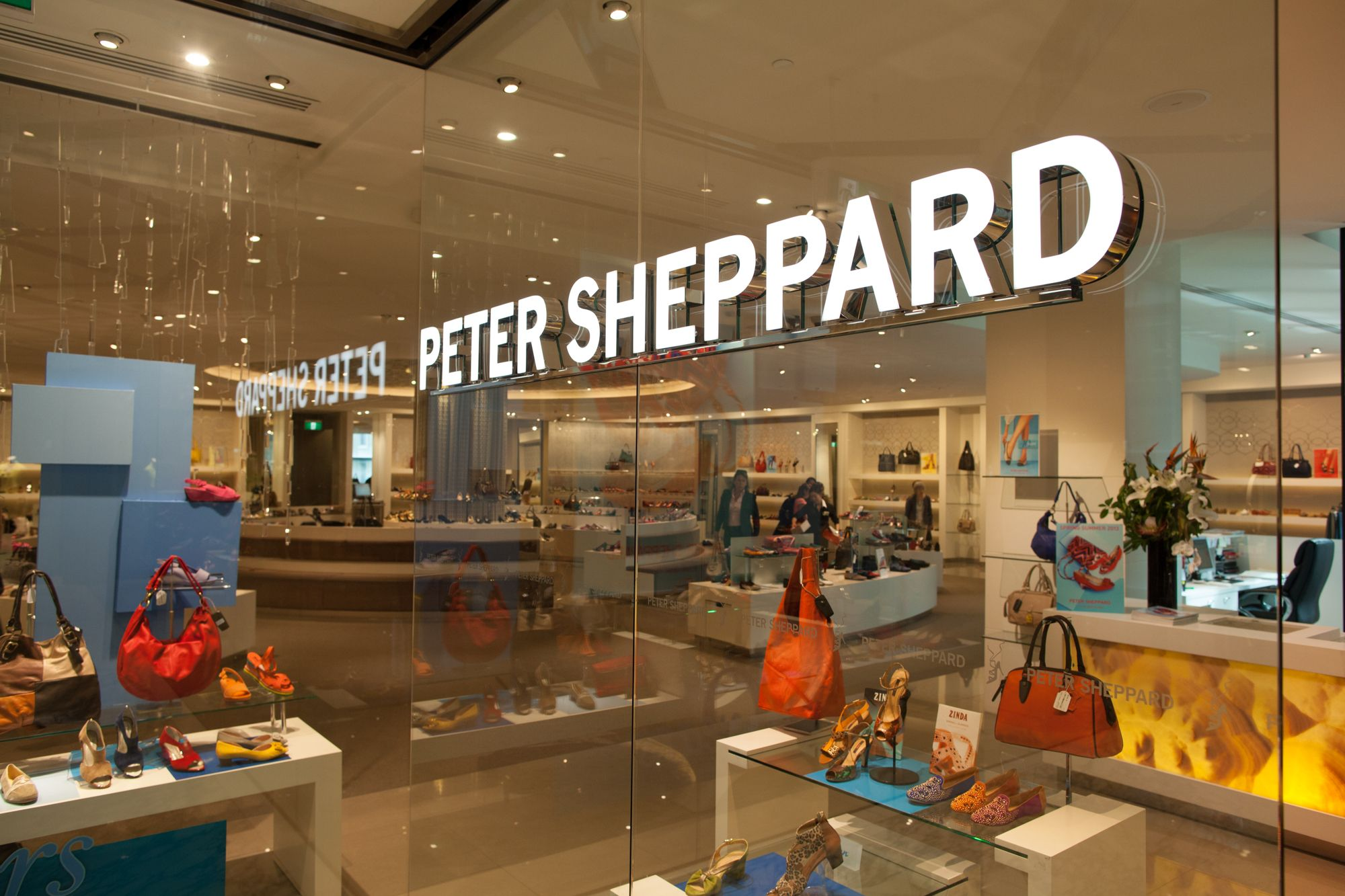 Peter Sheppard Retail Illuminated Letters