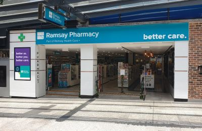 Ramsay Pharmacy Brisbane City Digital Signage