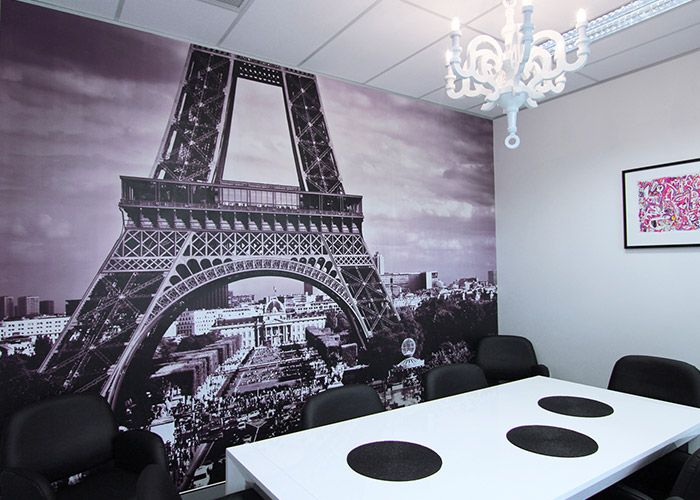 Eiffel Tower Wall Graphic